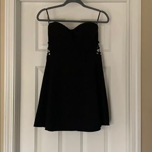 Forever 21 Strapless Cut Out dress